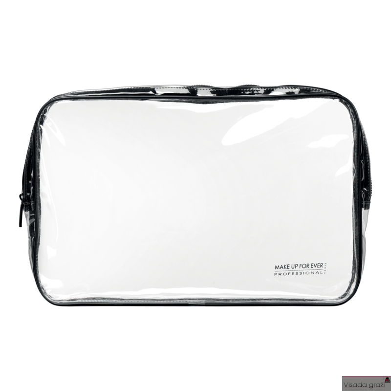 MAKE UP FOR EVER CRYSTAL STUDIO POUCH LARGE SIZE - permatoma kosmetinė L 350 x W 230 x H 45 mm