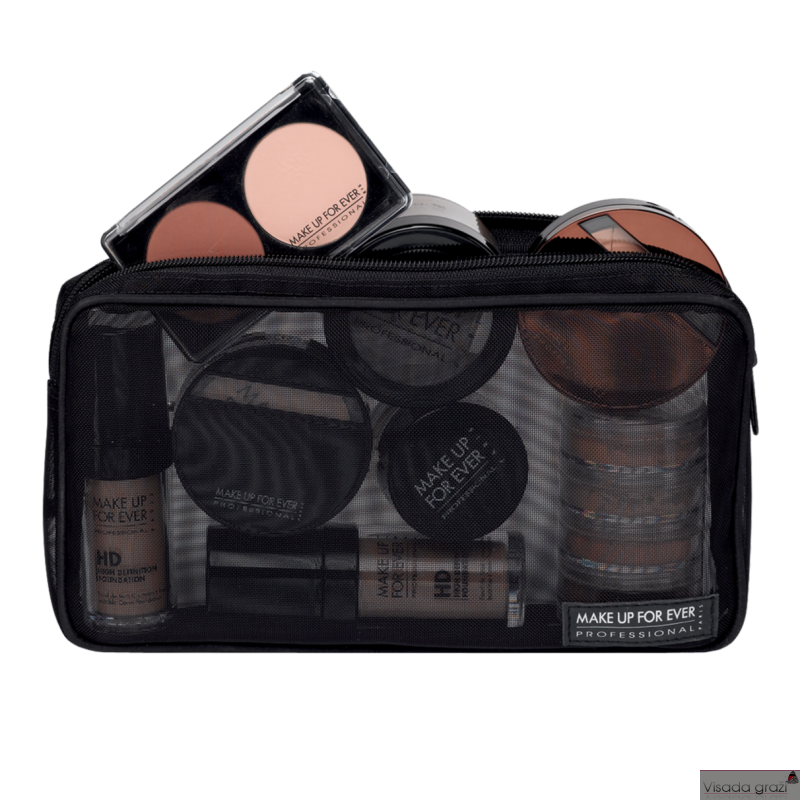 MAKE UP FOR EVER MESH POUCH - permatoma kosmetinė L250 x W 35 x H 140 mm