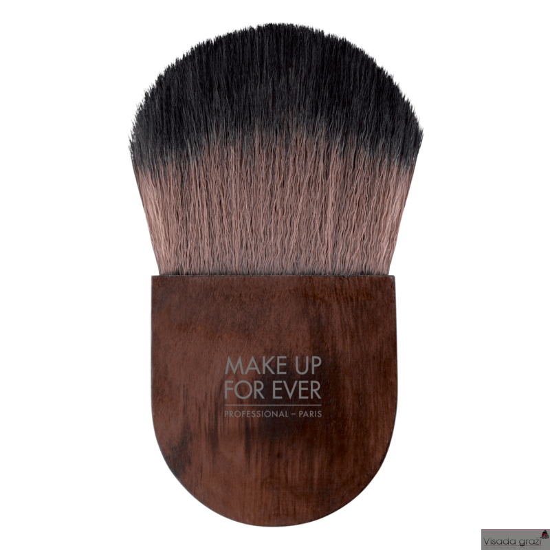 MAKE UP FOR EVER POWDER FLAT KABUKI - 132 - Teptukas biriai pudrai
