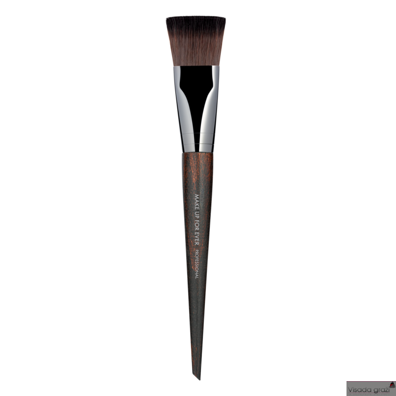 MAKE UP FOR EVER teptukas kreminei pudrai kūnui, mažas, Body Foundation Brush - Small - 406