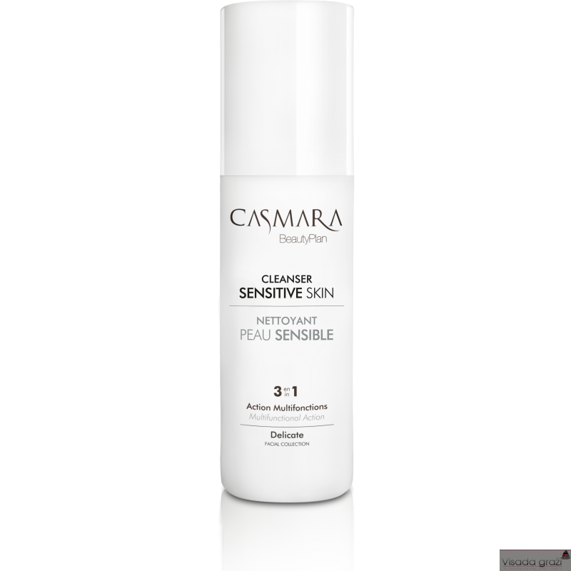 CASMARA SENSITIVE SKIN CLEANSER HIPOALERGINIS JAUTRIOS VEIDO ODOS VALIKLIS, 150ML