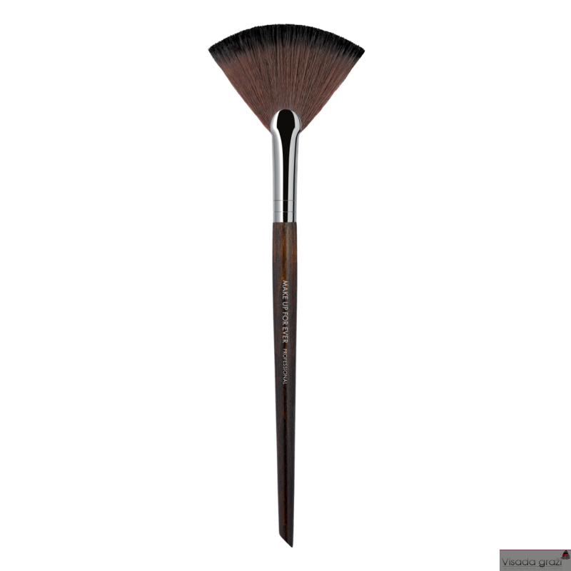 MAKE UP FOR EVER  Powder Fan Brush vėduoklinis pudros šepetėlis - 120