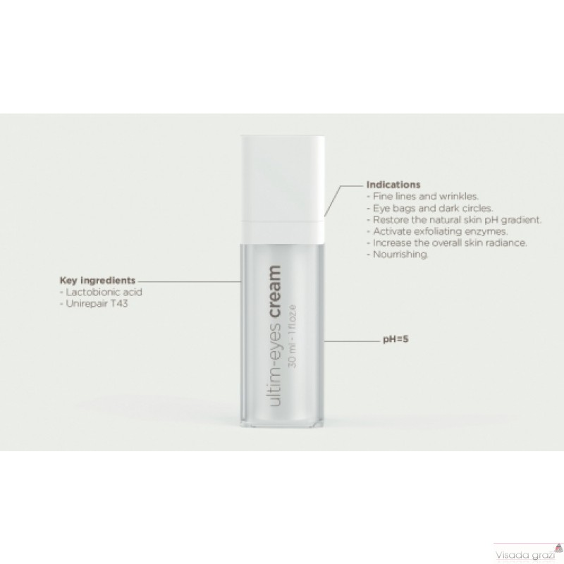 EKSEPTION Ultim-Eye Cream Akių kontūro kremas, 30 ml
