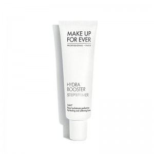 MAKE UP FOR EVER HYDRA BOOSTER STEP1 drėkinamoji bazė, sausai dehidratuotai odai, 30ml