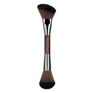 MAKE UP FOR EVER Dvipusis teptukas modeliavimui, Double-ended Sculpting Brush - 158