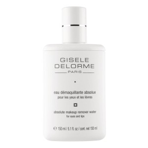 GISELE DELORME MAKIAŽO VALIKLIS ABSOLUTE MAKEUP REMOVER WATER FOR EYES AND LIPS