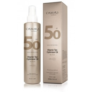 CASMARA VITAMIN TAN OPTIMIZER SPF 50 SAUSAS ALIEJUS KŪNUI, 200ml