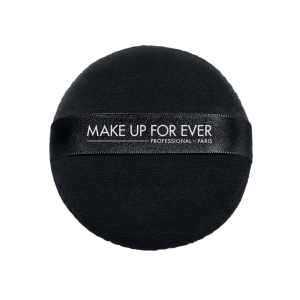 MAKE UP FOR EVER LOOSE POWDER PUFF Juodas pudrinukas biriai pudrai 100MM
