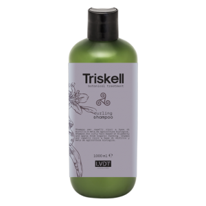 TRISKELL botanical treatment Garbanotiems plaukams šampūnas, 1000ml