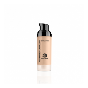 GERMAINE DE CAPUCCINI MAKE UP EVERLASTING SPF25 PUSIAU MATINĖ 12 VAL. MAKIAŽO PRIEMONĖ, 3 ATSPALVIAI PASIRINKIMUI, RIEBIAI ODAI, 30ML