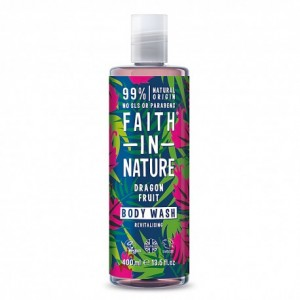 FAITH IN NATURE Dragon Fruit Conditioner Natūralus Gaivinamasis kūno prausiklis su kertuočių ekstraktu 400 ml