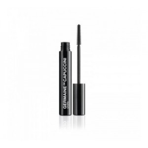 GERMAINE DE CAPUCCINI MAKE UP BLAKSTIENŲ TUŠAS UTOPIC (BLACK) juodas
