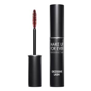 MAKE UP FOR EVER EXCESSIVE LASH Arresting Volume Mascara juodas ilginantis blakstienas tušas, 8,5ml
