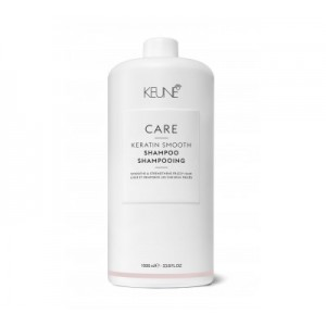 KEUNE CARE KERATIN SMOOTH ŠAMPŪNAS SU KERATINU, 1000ml