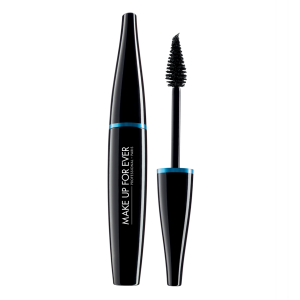 MAKE UP FOR EVER juodas tušas vandeniui atsparus, Aqua Smoky Extravagant Waterproof Mascara - Dramatic Impact & Graphic Precision, 7ml
