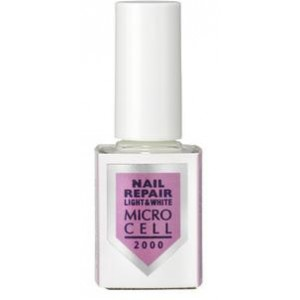 MICRO CELL 2000 Nail Vital light&white nagų stipriklis, 12ml