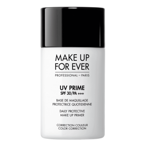 MAKE UP FOR EVER UV PRIME SPF 30/PA +++ Daily Protective Make Up Prime Color Correction Bazė prieš makiažą SPF 30, 30ml