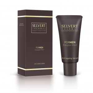 SELVERT FOR MEN ANTI-AGEING SERUM Priešraukšlinis serumas vyrams, 30ml