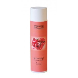 STYX POMEGRANATE SHOWER GEL NATŪRALUS GRANATŲ DUŠO GELIS, 250ML