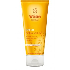 WELEDA Oat Replenishing Conditioner natūralus atkuriamasis kondicionierius su avižomis, 200ml
